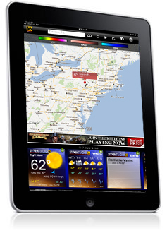 WNEP Weather iPad App